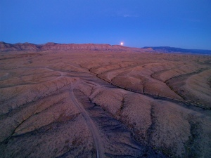 Eclipse Over Book Cliffs, Grand Junction CO
